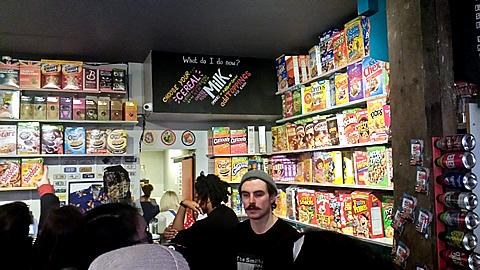 Cereal Killer Cafe Cashier