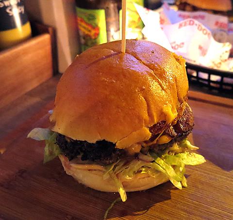 Red Dog Saloon BBQ Burger