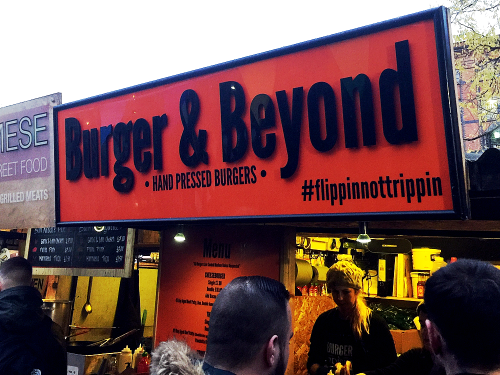 Burger and Beyond - Shop front